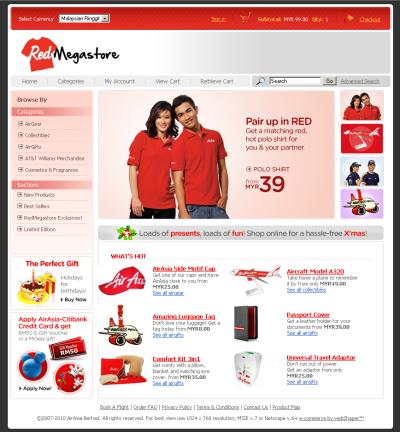 Buy AirAsia Merchandizes Online!